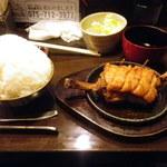 ヤンパオ - 夢のマンガ盛ご飯\250/マンガ肉\880