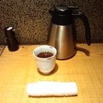 17709970 - 暖かいお茶はセルフサービス