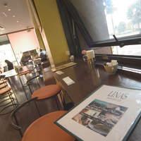 リアン サンドウィッチ カフェ - カウンター席は3席です。