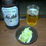 17710128 - 突き出しとビール