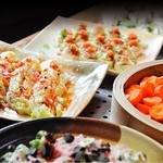 旬菜創作ビュッフェ 露菴 - 料理写真:旬の野菜の創作料理