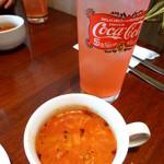 カハラルーム - ランチのスープ&ドリンク