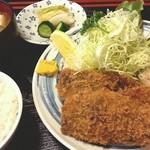 まんじ - アジフライ 2013.3