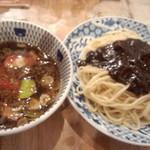 ラーメン凪 炎のつけめん - 【13.3月訪問】炎のつけ麺 780円 安くなった!
