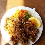板橋食堂 - 焼肉(単品) \550