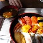板橋食堂 - 寿司 \600 !