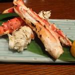 バール ダイコク - タラバ蟹の足焼き