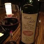 カレス - 赤ワイン モンテアンティコ サンジョベーゼ