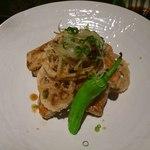 旬彩料理 てん - レンコンと山芋のフライ