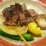 北海うまいもの処 庄や - 焼物:和牛ヒレ陶板焼