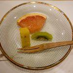 北海うまいもの処 庄や - 水菓子:フルーツ盛り
