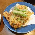 山翠 - 納豆かき揚げ