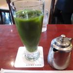 麻布茶房 - アイス抹茶(濃い茶)