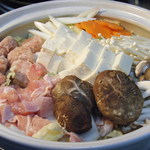 鳥膳 丸梅 - 地鶏のたたき鍋