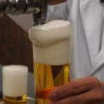 ビールスタンド重富 - 継ぎ足し参度目
