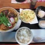 うどんのこいけや - 味噌煮込みうどんBセット¥900