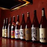 松玄 - おそばに合う地酒や焼酎の他、ワインなどもご用意しております。