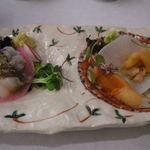 おおさか料理  浅井 - 赤貝、とり貝