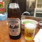 餃子センター - ビール