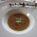 17722293 - アミューズ・切干大根入りスープ