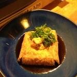 なべ屋 たいたん - 揚げ出し豆腐