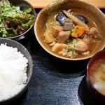 やまや - 博多郷土料理がめ煮定食