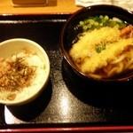 やまぎわ製麺所 - 海老天セット