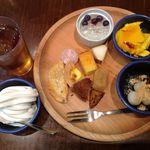 里山dining 野の宴 - 【カフェバイキング】
