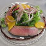 クニオミ - 鴨の燻製のサラダ仕立て
