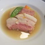 クニオミ - プティサレのスープ煮