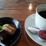 こみち食堂 - コーヒーセット