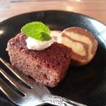 こみち食堂 - 手作りのプチケーキ