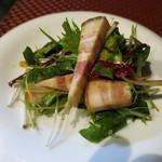 17727521 - ブリアンベッラと有機野菜のサラダ。