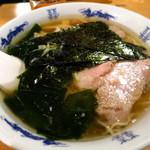 ルート246 - 塩ラーメン600円