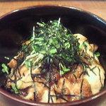 ちきんはうす - おすすめの照り焼き丼  ジューシー地鶏と甘辛ダレのあっさり味!