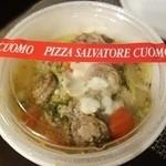 PIZZA SALVATORE CUOMO - 【サルシッチャとブロッコリーのナポリ風ペペロンチーノ(単品価格¥1.380)】
