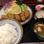 17731478 - カキフライ定食(1480円)