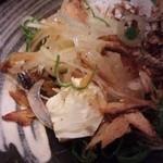 マゴコロ - クリームチーズ冷ややっこ風(340円)