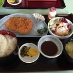 福岡国際カントリークラブ - 黒豚ロースカツ膳1,580円