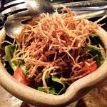 鶏鳥kitchen ゆう - ほうれん草のサラダ