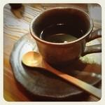 満満堂 - 苦味のない飲みやすいコーヒー。