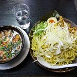 17734667 - 辛味つけ麺(800円)