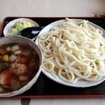 之乃屋 - 鴨汁野菜せいろうどん 980円