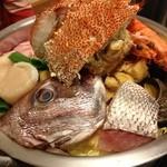 17735887 - 豪快海鮮ちゃんこ鍋。(正面)