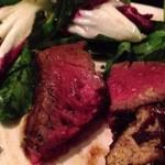 ラ ファーメ - 牛フィレ肉とフォアグラのポワレ