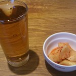 17738804 - お茶と大根キムチ