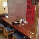 道 - テーブル席3卓ご用意して居ります