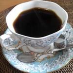 ガルボ - ドリンク写真:相方のコーヒーです