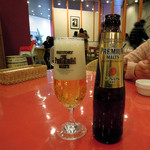 グラシアス - +180円でドリンクをビールにしました