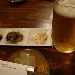 酒楽たんと - 料理写真:ビールで乾杯っ